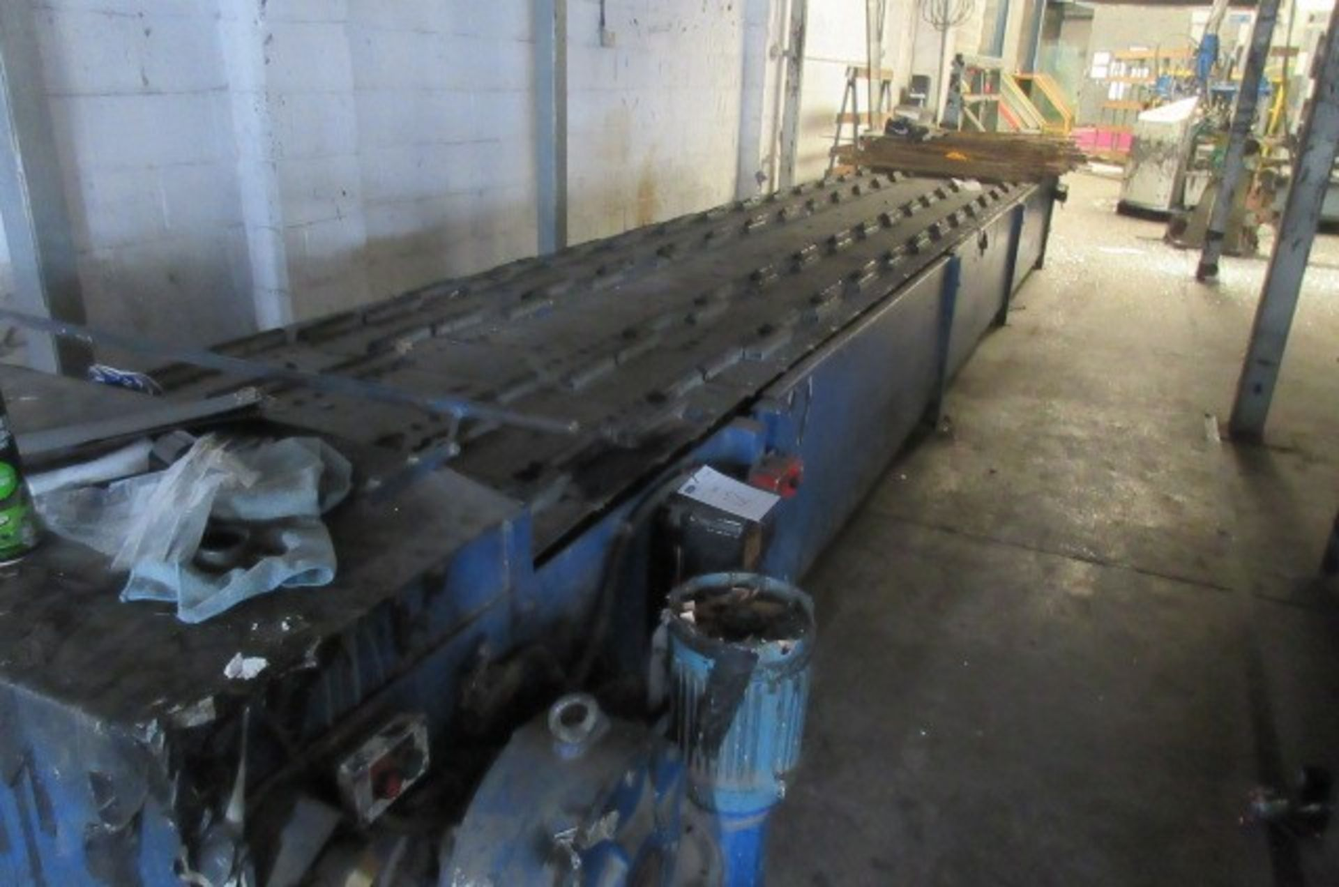 Assembly/drying conveyor 7.2m long x 1.1m wide. - Image 4 of 4