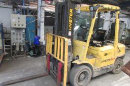 Hyster 3.00XM LPG driven forklift truck