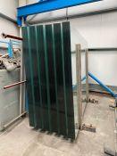 6 x 36 Packs of Glass inc Heavy Duty Glass Rack