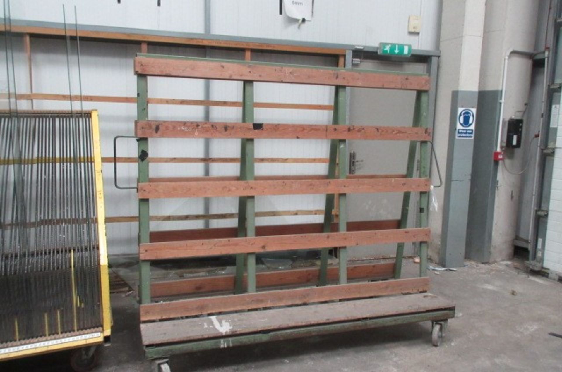 Five 'A' Framed double sided glass transportation racks. Qty 4 size 2m x 1m x 1.6m high & Qty 1 size - Image 5 of 5