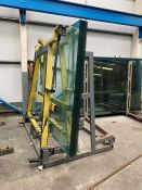 1 x Pack of Glass on Heavy Duty Metal Glass Frame (Note: Not Including Glass Lifting Frame)