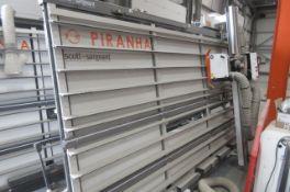 Harwi Piranha 1550 vertical panel /wall saw (2017)