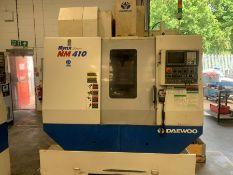 Daewoo Mynx NM410 CNC machining centre (2005)
