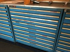 6 Polstore tool cabinets