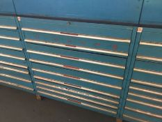 4 Polstore tool cabinets