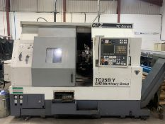 CMZ TC-25BY CNC lathe (2010)