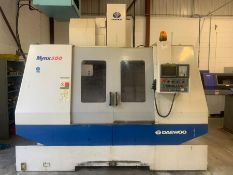 Daewoo Mynx-500 CNC machining centre (2000)
