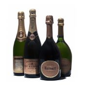 4 bottles Mixed Champagne