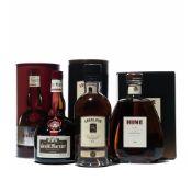 3 bottles Mixed Spirits and Liqueurs