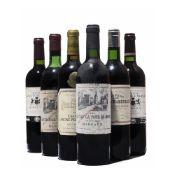 15 bottles Mixed Bordeaux