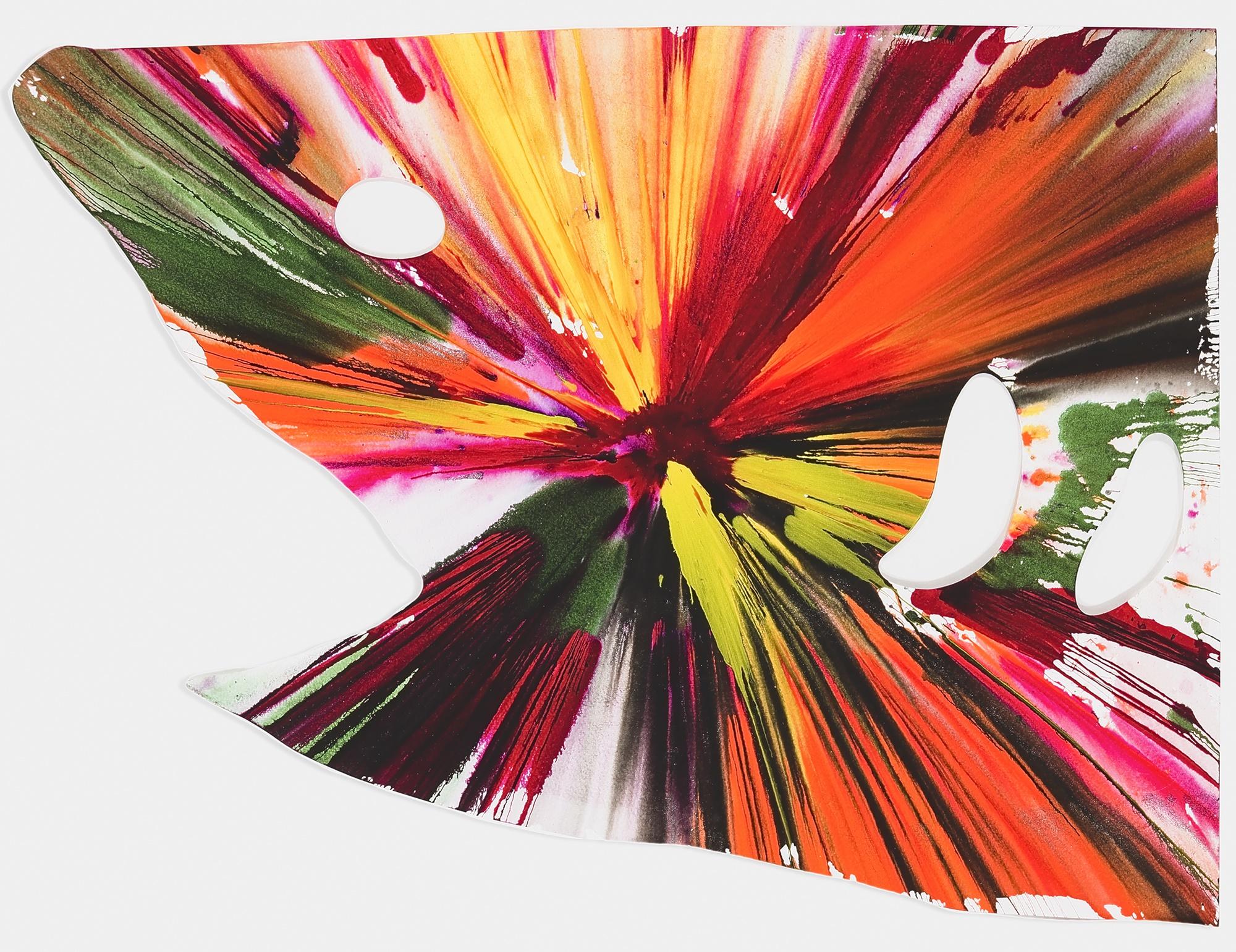 Damien Hirst (British 1965-), 'Shark Spin Painting', 2009