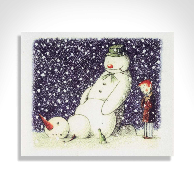 Banksy (British 1974-), 'Rude Snowman', 2003