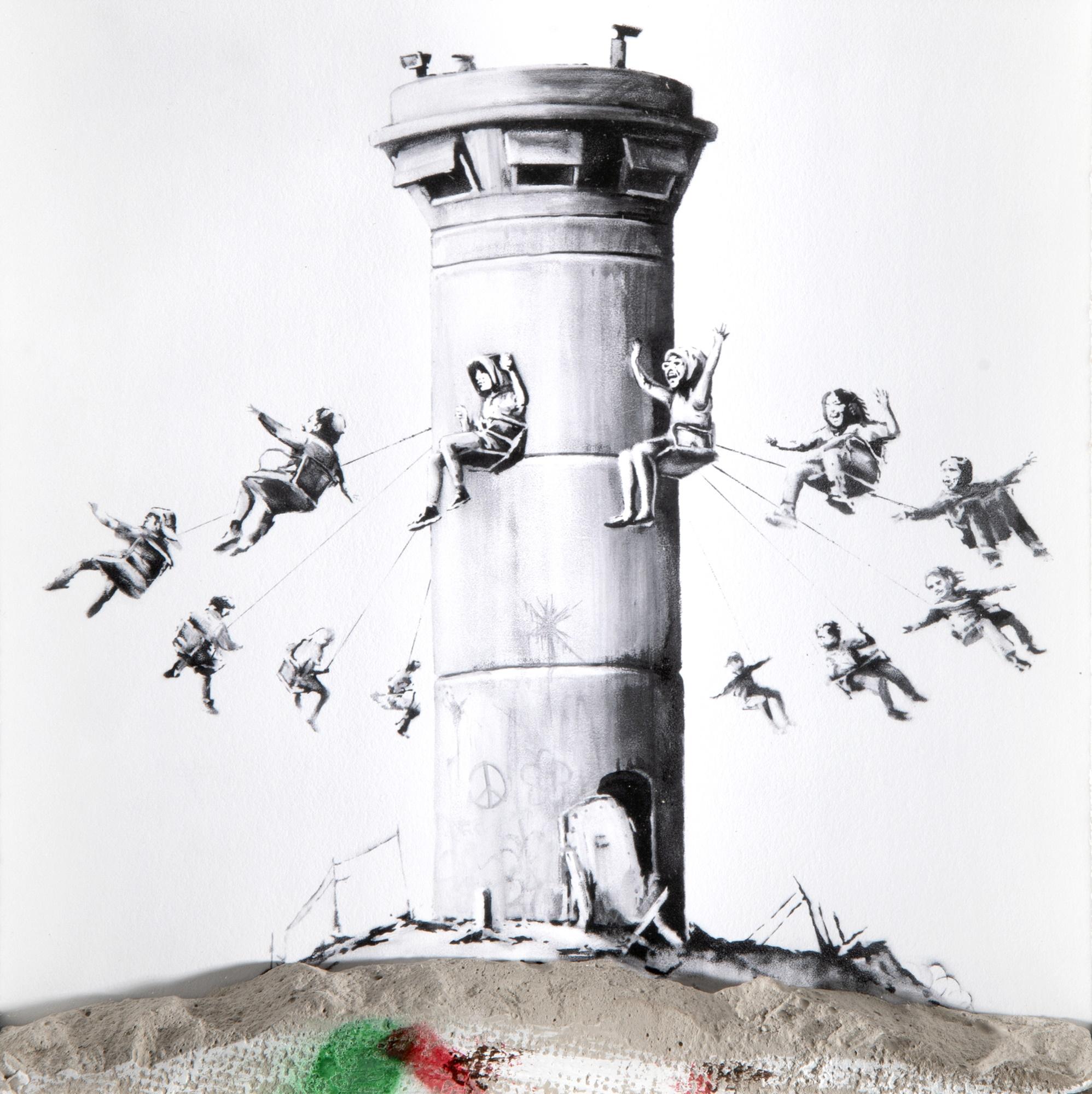 Banksy (British 1974-), 'Walled Off Hotel Box Set'