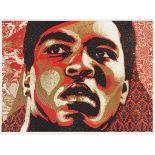 Shepard Fairey (American 1970-), 'Muhammad Ali', 2006