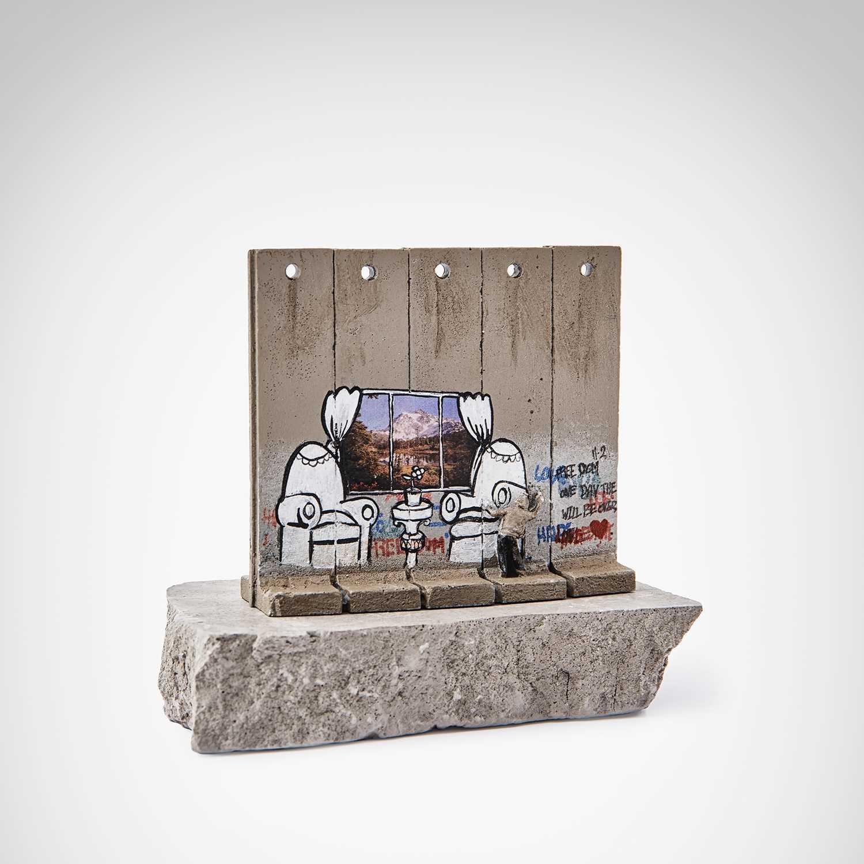 Banksy (British 1974-), 'Walled Off Hotel - Alpine View'