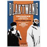 Banksy (British 1974-), 'Black Twang x Est'elle'