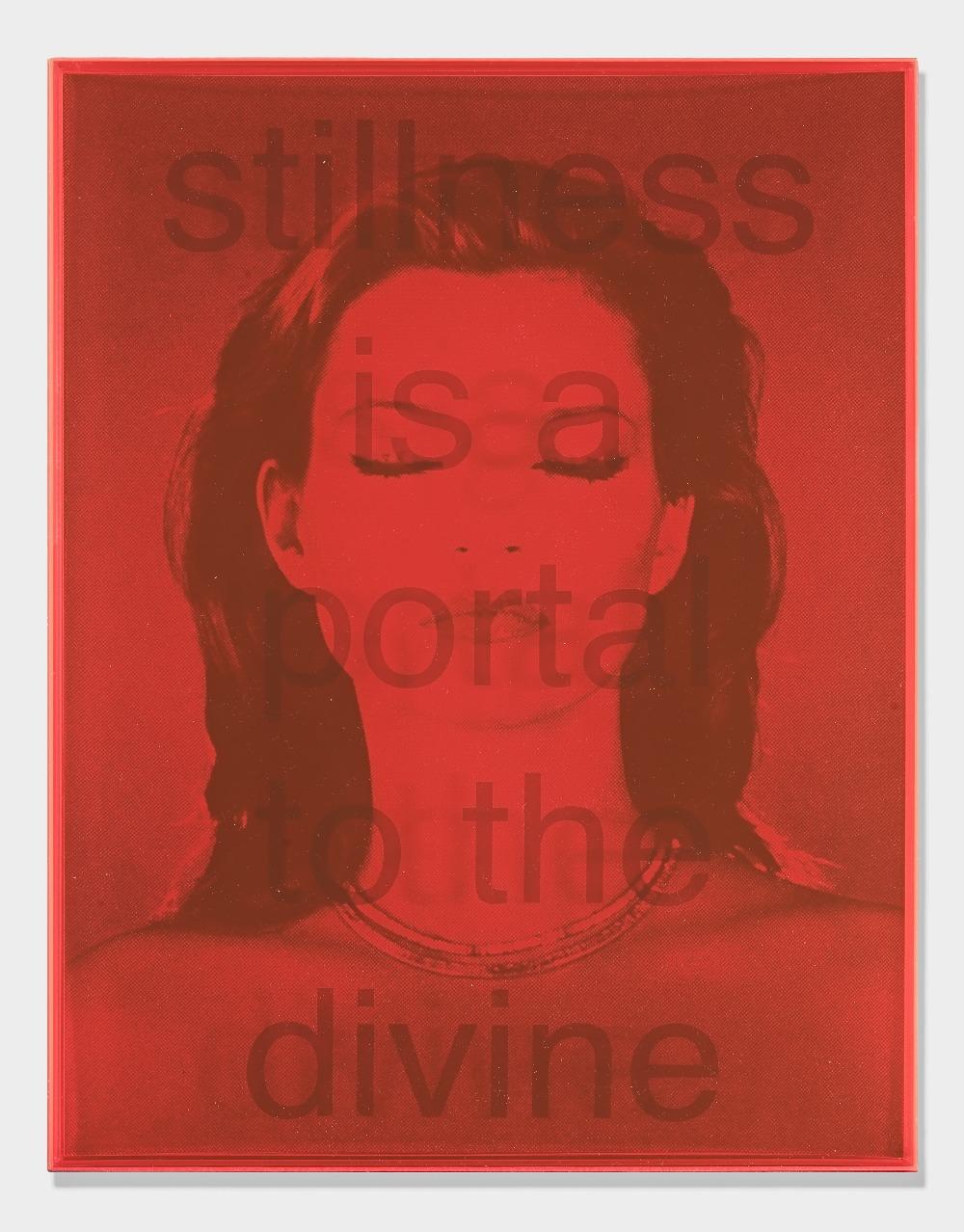 Chris Levine (British 1960-), 'Stillness Is A Portal To The Devine', 2021 - Image 3 of 3