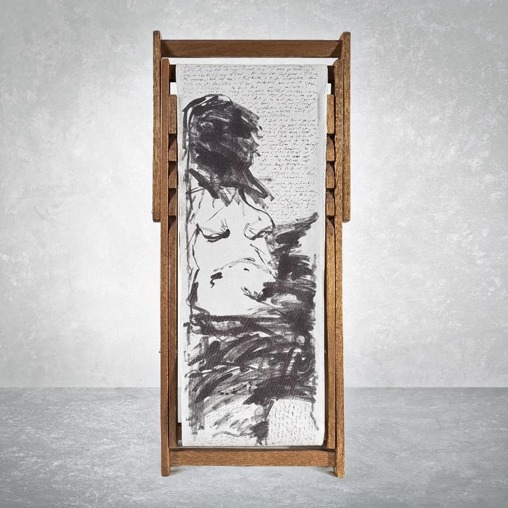 Tracey Emin (British 1963-), 'Deck Chair', 2007