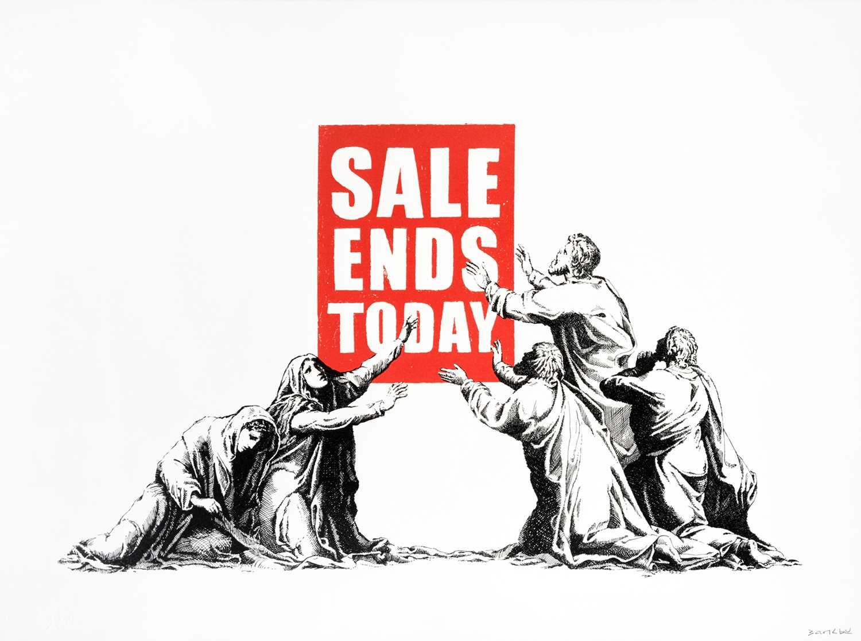 Banksy (British 1974-), 'Sale Ends (V2)', 2017