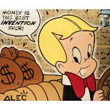 Alec Monopoly (American 1986-), 'Money Is The Best Invention Ever!', 2017