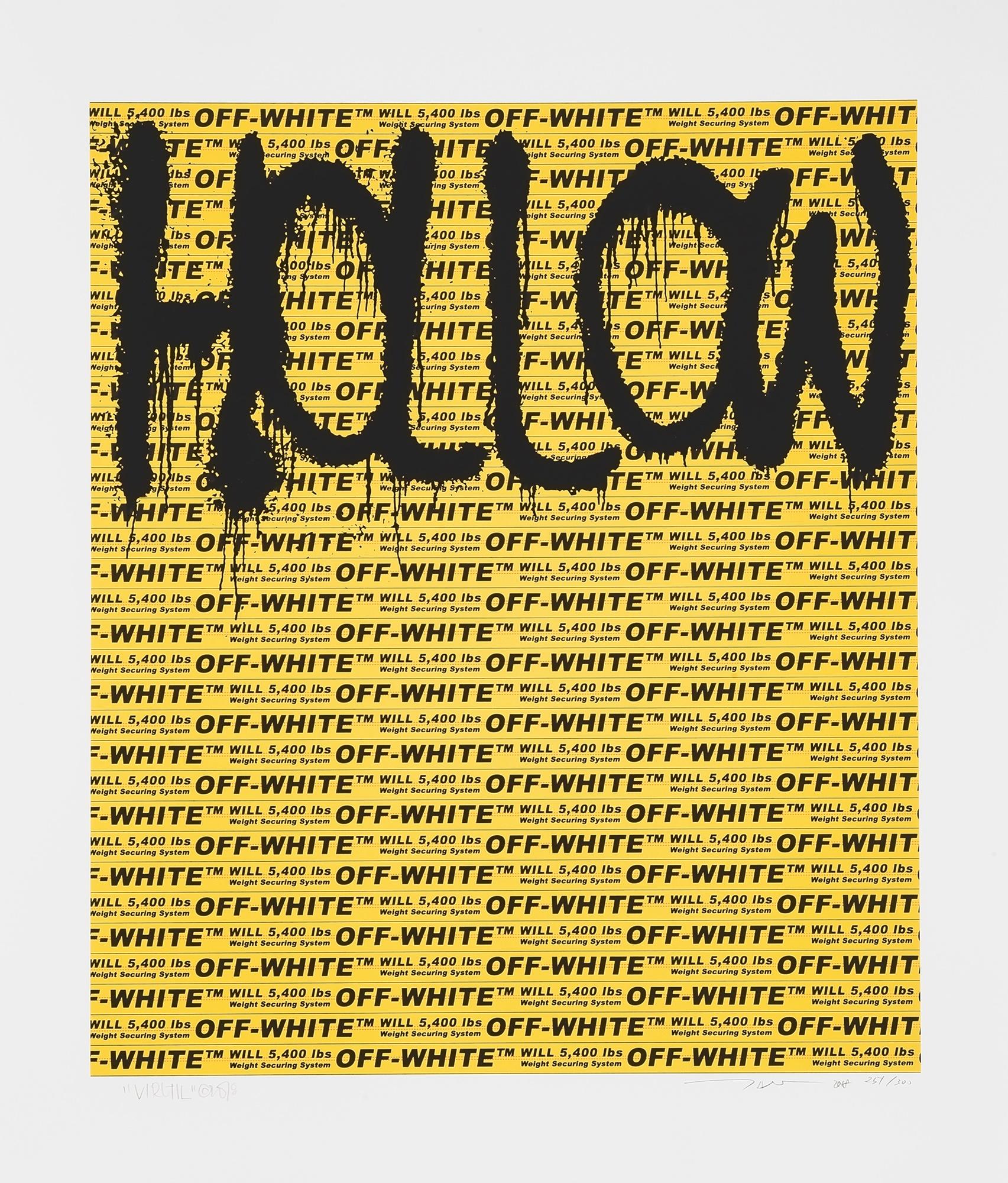 Takashi Murakami (Japanese 1962-), 'Hollow Man', 2018
