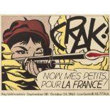 Roy Lichtenstein (American 1923-1997), 'Crak!', 1964