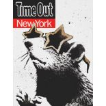 Banksy (British 1974-), 'Time Out New York', 2010