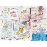 Jean-Michel Basquiat (American 1960-1988), 'Olympic (1983/2017)', 2017