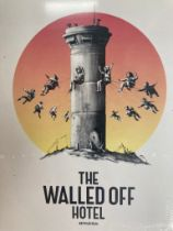 Banksy(British1974-),'22PiecesofMixedEphemerafromWalledOffHotel'