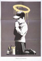 Banksy(British1974-),'ForgiveUsOurTrespassing',2010