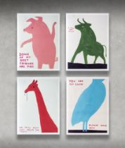 DavidShrigley(British1968-),'AnimalSeries',2020