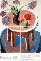 DavidHockney(British1937-),'Fiesta',1988