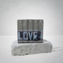 Banksy(British1974-),'WalledOffHotel-Love'