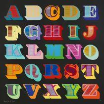 BenEine(British1970-),'Shutterfont(Black)',2009
