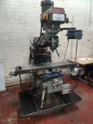 XYZ KRV 2000 Turret Milling Machine