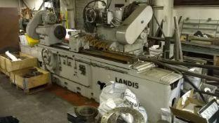 Landis Lund Type 4RH Plain Cylindrical Grinder