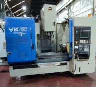 Hitachi Seiki VK 55II Vertical Machining Centre with 4rth axis