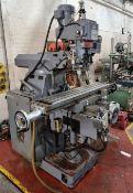 Ajax AJT 500 Turret Milling Machine