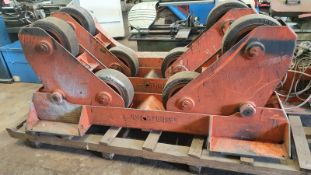 Bode 5 Ton Self Aligning Pipe Rotators (Driven and Idler)