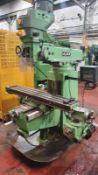 Ajax AJT1 Turret Milling Machine