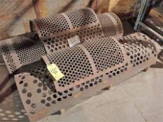 Shredding/Granulating Line spare parts: misc. screens for G1 & G2 granulators