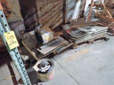 Chain Shredding Line 1/2 spare parts, incl.: wear plates, anvil blocks, hydraulic door cylinder,