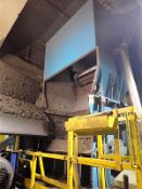 """Cimp granulator, mod. PCR1600, 125 HP c/w outfeed tapered belt conveyor, approx. 16"""" x 14' ("""