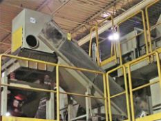 """Inclined conveyor, approx. 24"""" x 15', power (Subject to confirmation. The winner will be"""