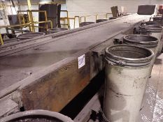"""10-man sorting line belt conveyor, approx. 30"""" x 25', power (Subject to confirmation. The winner"""