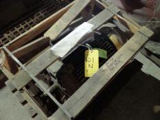 Shredding/Granulating Line spare parts: spare motor for cooling fan, WEG, 15 hp