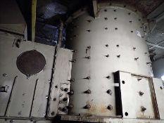 Retek chain shredder, mod. RKZ2000 (2005), 200 HP, 460 V c/w blower/dust extraction system &