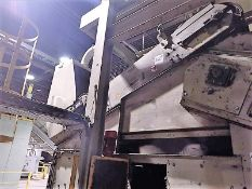 Steinert CB suspended magnetic conveyor, mod. UMP 70 100 W G, ser. no. 05188202001 (2006) approx.