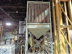 10 HP cement mixer c/w feed hopper