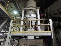 """Cyclone separator w/ air lock & 80"""" auger (Subject to confirmation. The winner will be determined"""